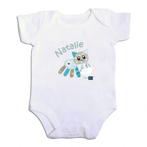 Personalised Cotton Zoo Calico the Kitten Vest